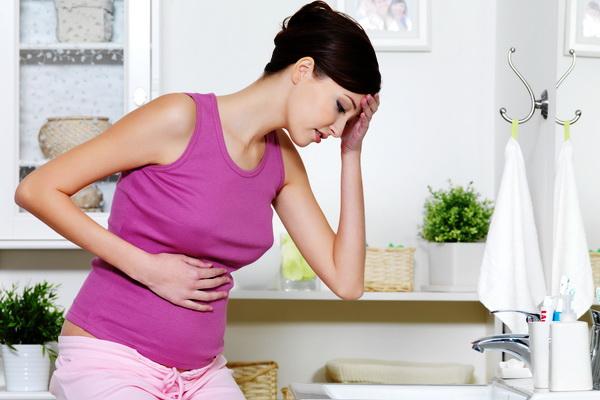 Боли в животе и спине во время беременности