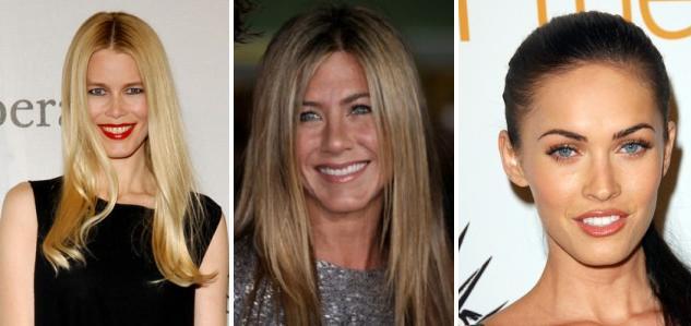 Типы лица : Квадратный тип лица    Квадратный тип лица также как и круглый имеет примерно одинаковую ширину и длину, но