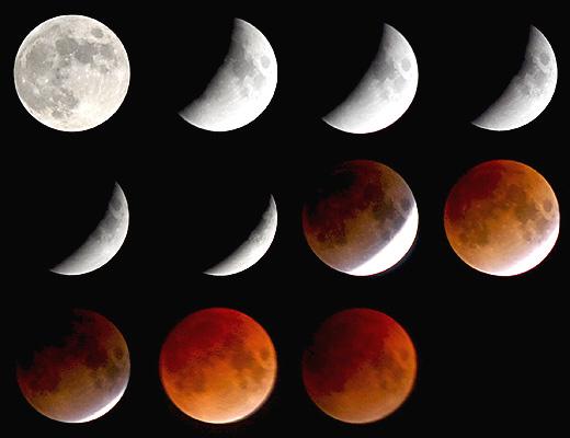 Солнечные и лунные затмения : Считается, что человек, рожденный в день затмения, становится заложником так называемого цикла Сароса, то есть похожие события происходят с ним