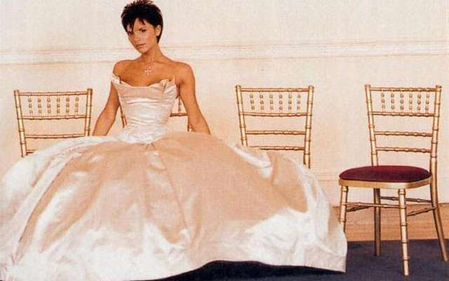 Свадебное платье виктория бекхэм