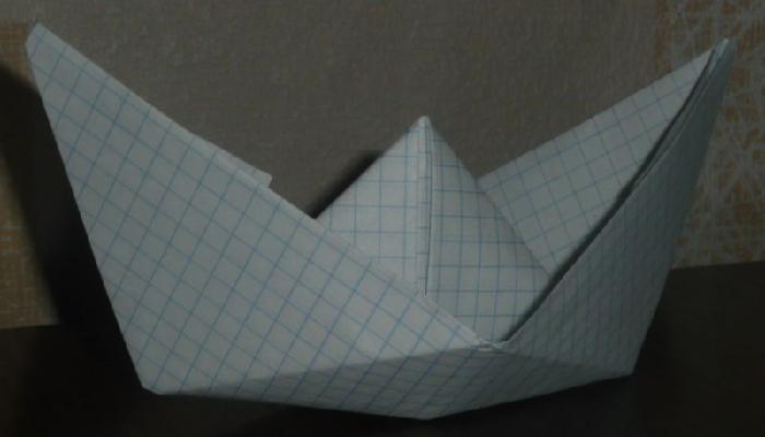 Поделки из тетрадного листа