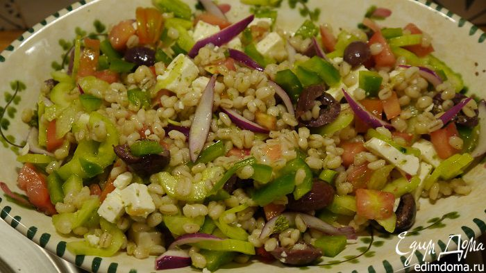Греческий салат от высоцкой