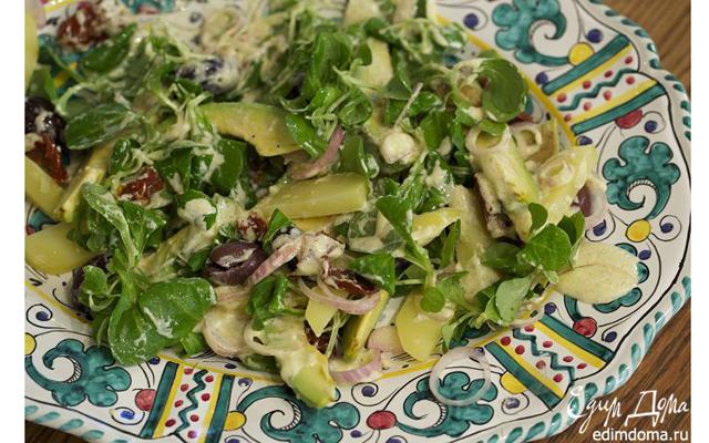 Рецепты высоцкой салат с авокадо