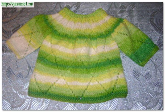 Вязание спицами для детей акрил