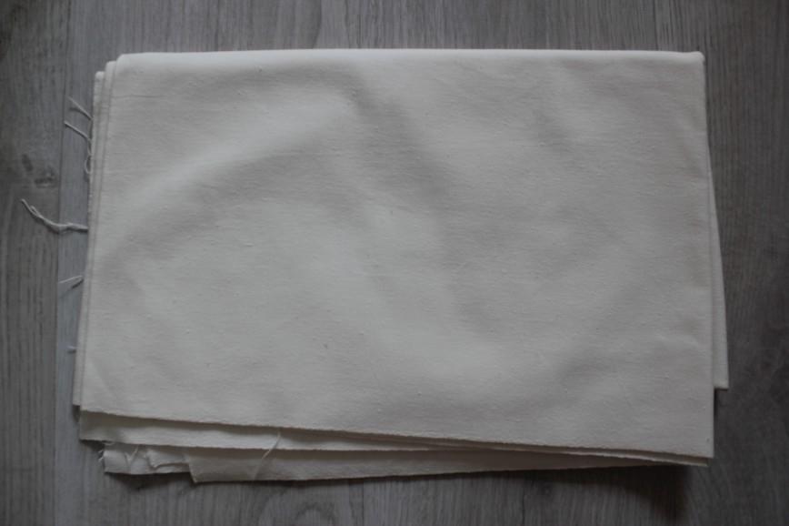 Ткань кирза плотная, типа тика, подойдет для наматрасников, наперников, спец.обуви. Размер 100*500см. 2000р