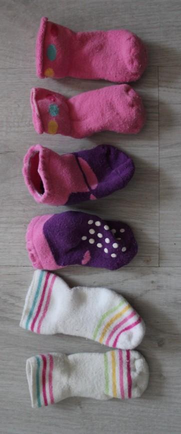 Носочки махровые 3 пары, в идеале. 50р