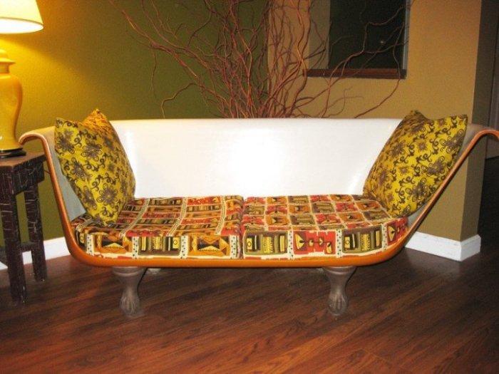 Как сделать диван своими руками из старых