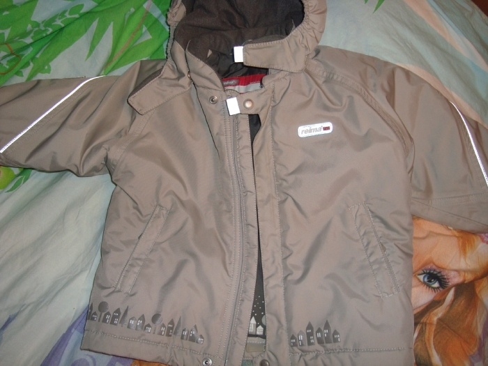 куртка рейматек р 80 состояние отличное без дефектов цена 1500р.