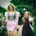 Дочь Натальи Водяновой посетила модное шоу