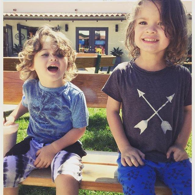 Меган Фокс создает прекрасных детей