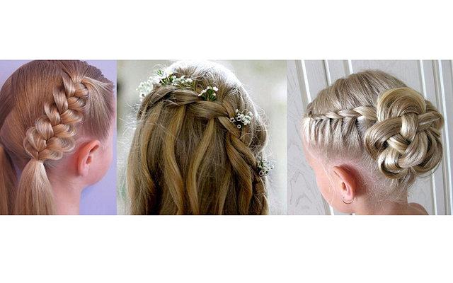 Причёски на 1 сентября на длинные волосы фото на 5 класс