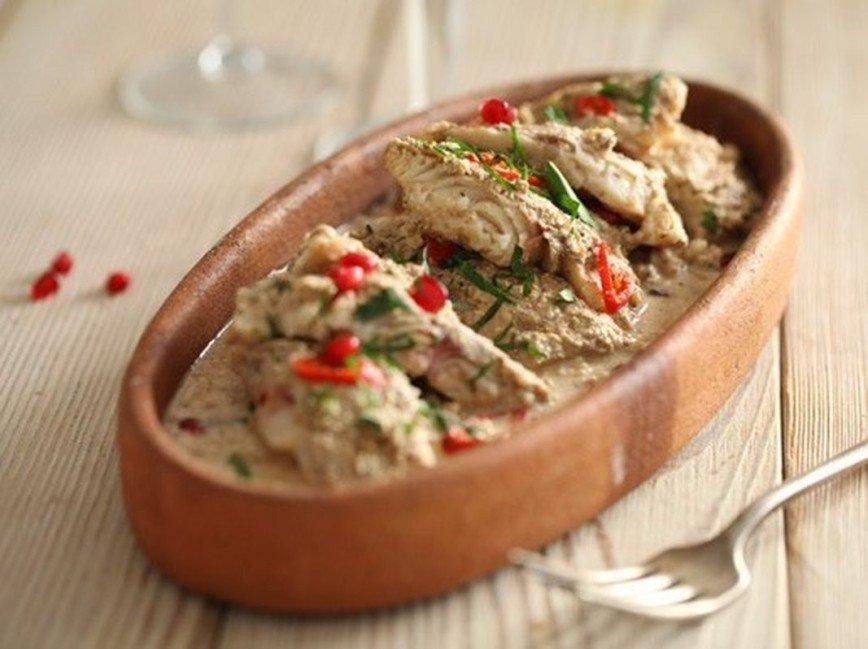 Рецепт орехового соуса для рыбы
