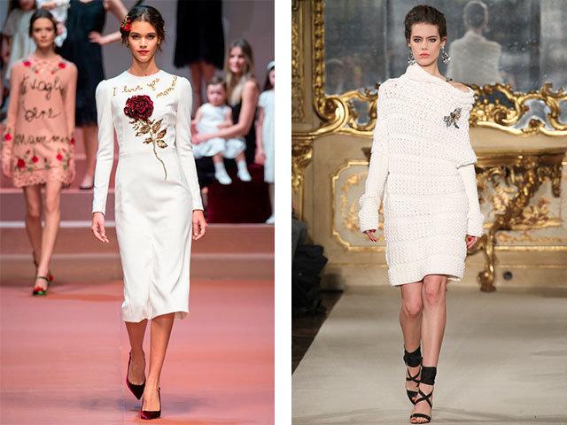 Модные платья этом сезоне