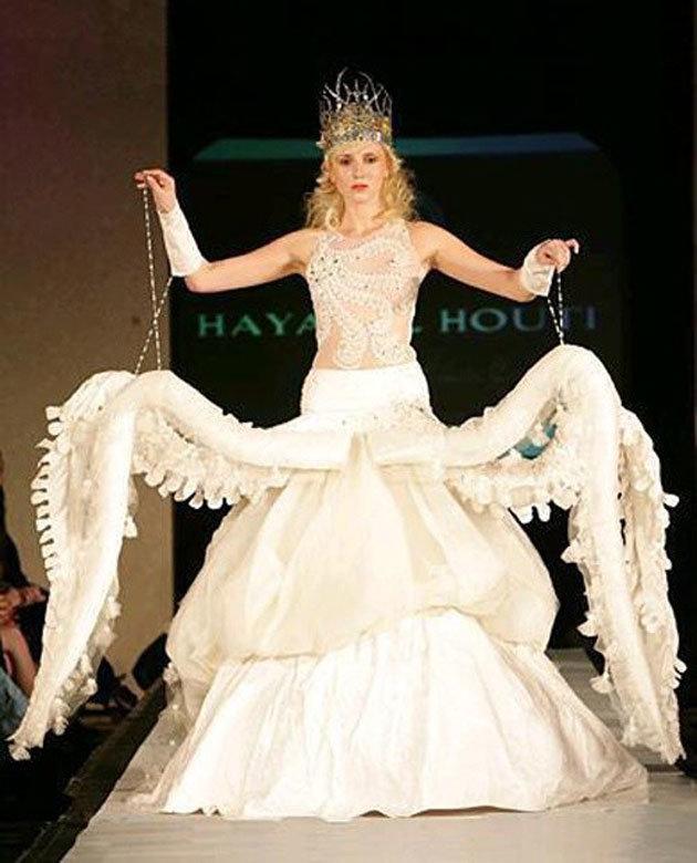 Самые необычные свадебные платья мира