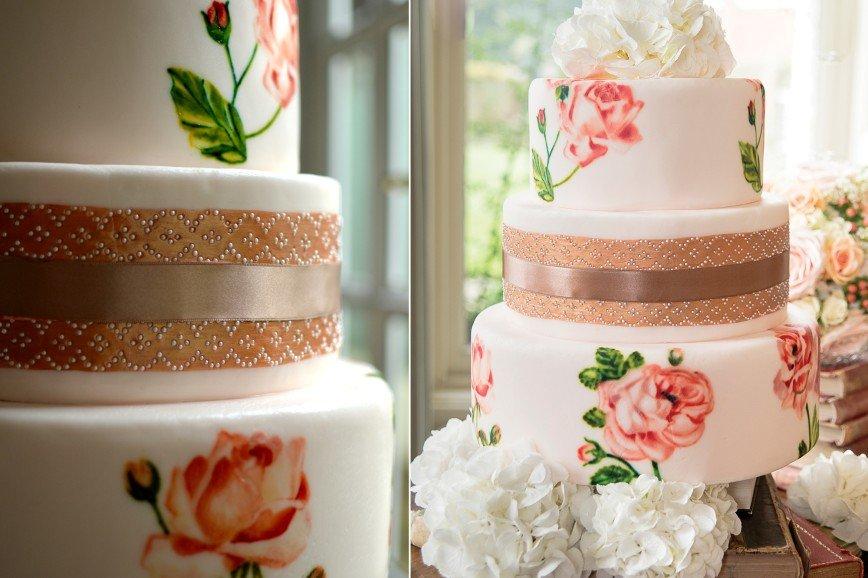 Роспись на тортах - тренд 2016