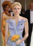 Княгиня Монако Шарлен в платье от Armani