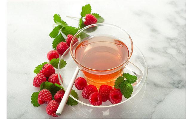 Простуда чай с малиной