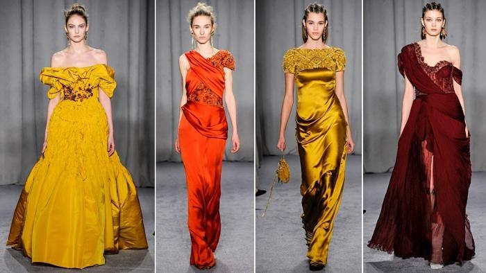 Фото экстравагантных платьев