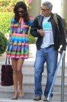 Амаль Аламуддин и Джордж Клуни в Каннах