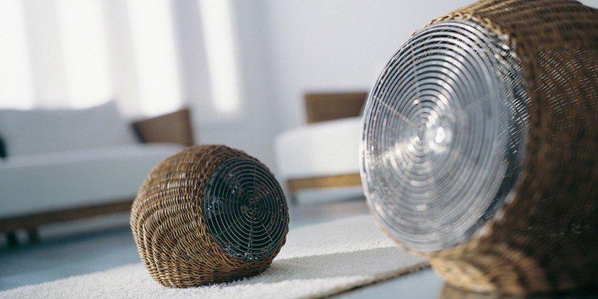 Wind S – оригинальные напольные вентиляторы