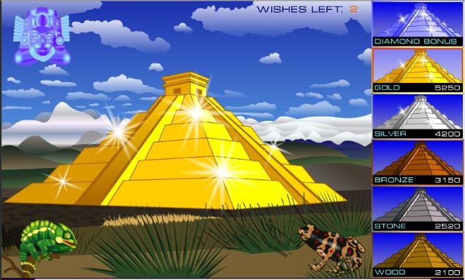 Популярный игровой автомат (Пирамиды)