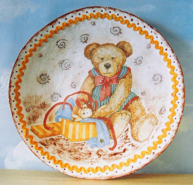 Папье маше тарелка своими руками