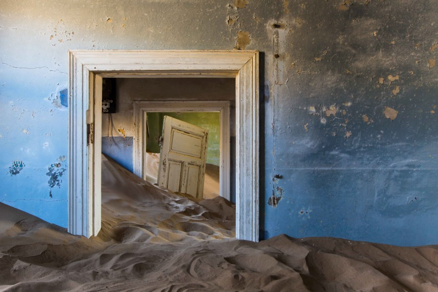 Затерянный в песках