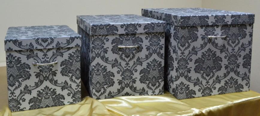 Сделать своими руками коробки для хранения вещей