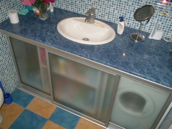 Встроенная раковина для ванной своими руками
