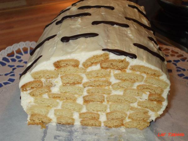 Торт полено в домашних условиях 940