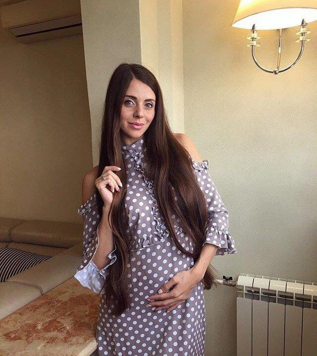 Ольга Рапунцель беременна. ФОТО