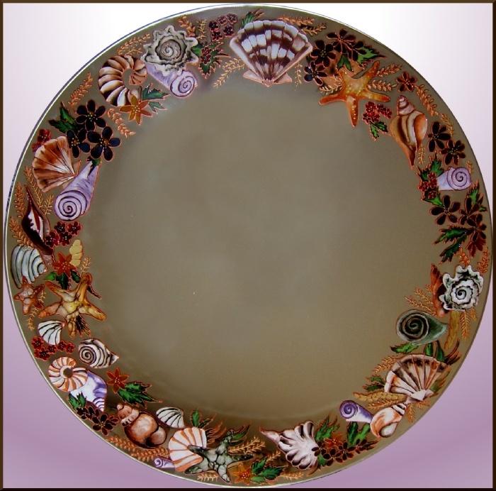 Декор зеркала мастер класс фото