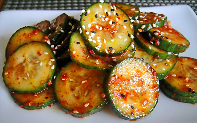 Остры корейские салаты рецепты
