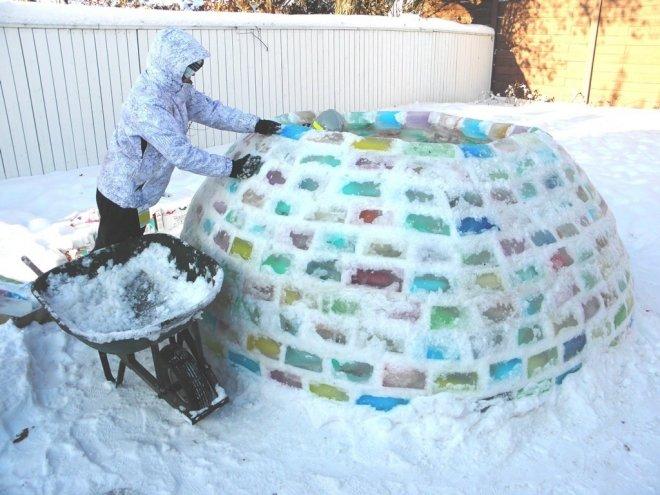 Как сделать фигурку из льда