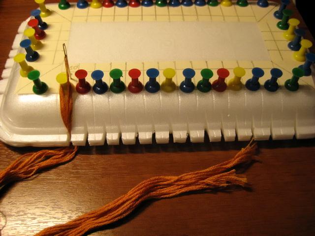 Органайзер для вышивки своими руками мастер класс