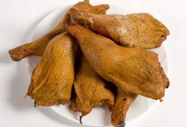 Варим курицу перед копчением