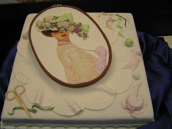Переводим картинку на торт