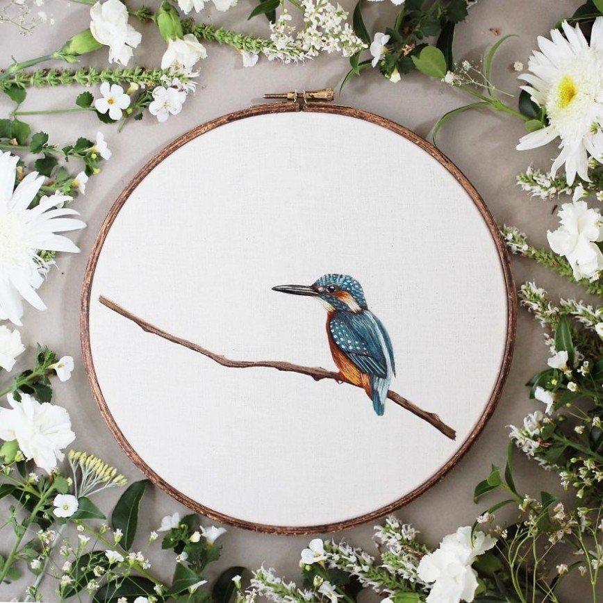Звери и птицы от Эмилли Феррис