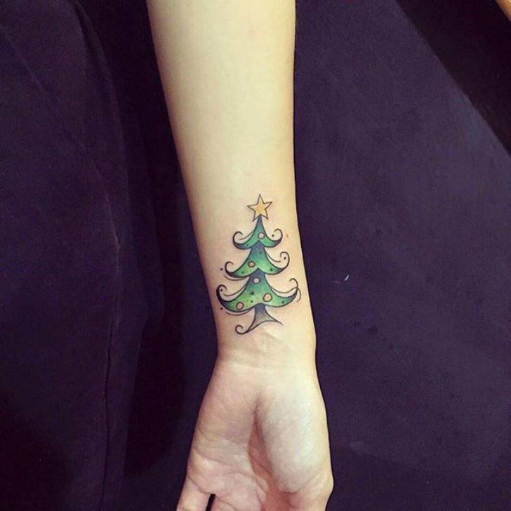 Новогодние татуировки