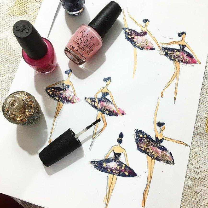 Модные рисунки для ногтей