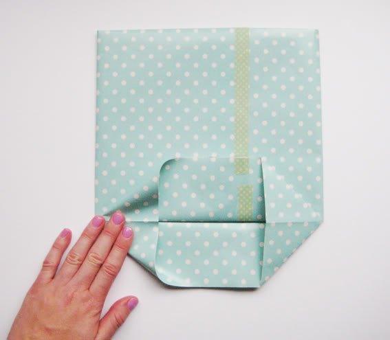 Пакет для подарка своими руками быстро