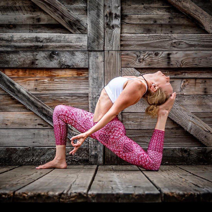 Робин Мартин и ее йога