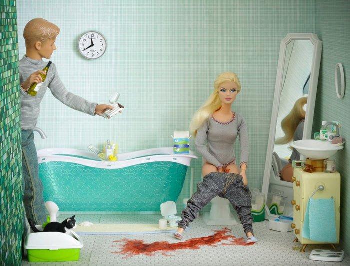 Как беременные рожают куклы барби 58