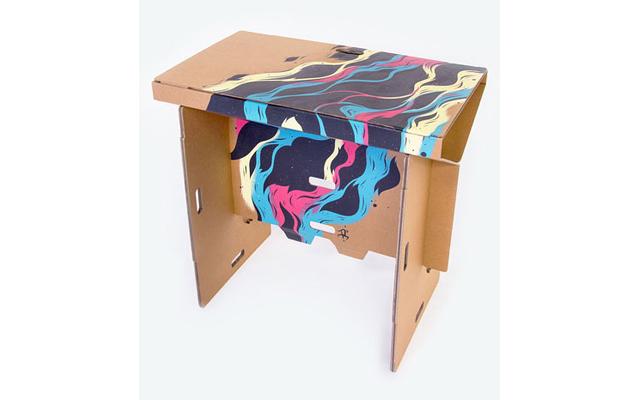 Как сделать дизайнерский картон своими руками без салфеток