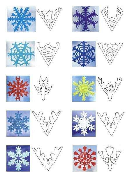 Вырезаем снежинки своими руками Дом-Квартира Дом