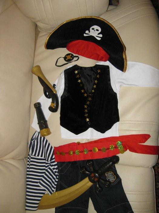 Пират костюм для мальчика своими руками