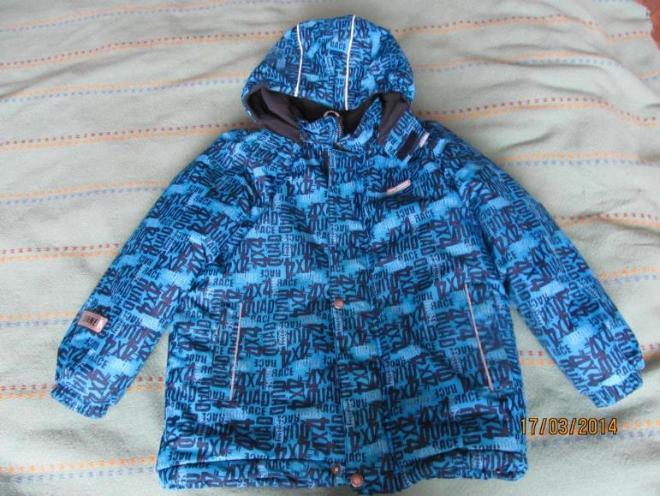 Куртка Ленне в хорошем состоянии, 110(+6), холодная осень, теплая зима, 1000р.