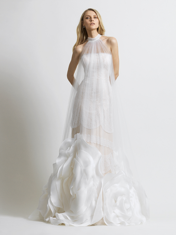 Широкие платья невест