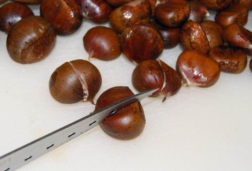 Когда сажают орехи каштана