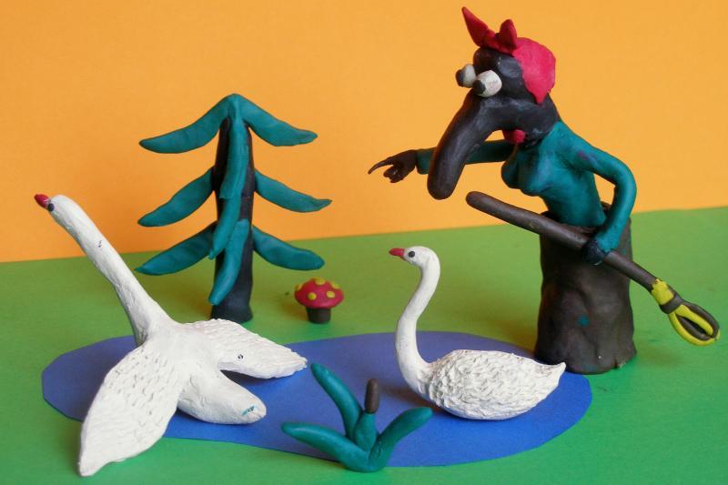 Лебеди для сказки своими руками